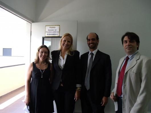Visita da OAB ao NPJ