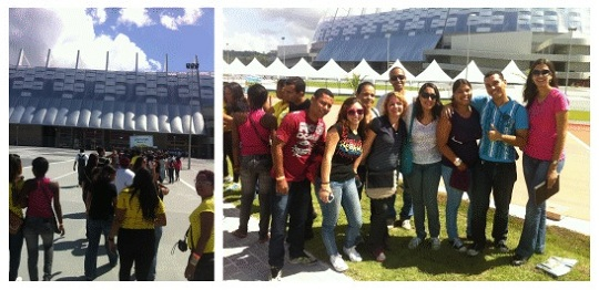 Visita Arena Pernambuco