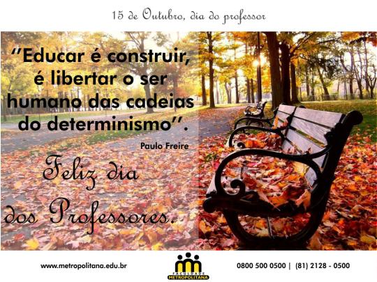 15 10 14 DIA DOS PROFESSORES
