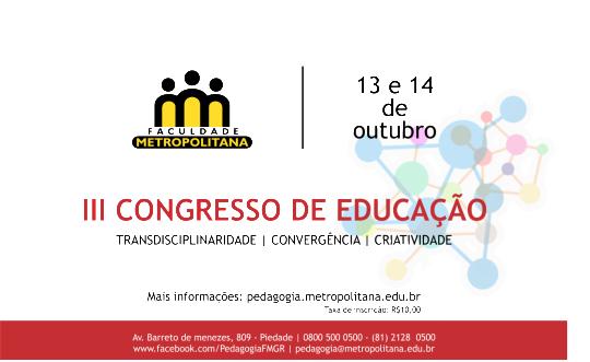 Congresso pedagogia