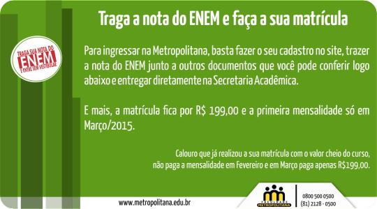 26 01 15 Nota - ENEM