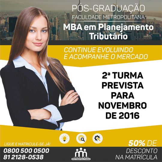 MBA Planejamento Tributário