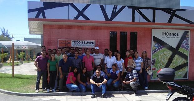 Logística e Produção Industrial: Visita Técnica ao TECON Suape