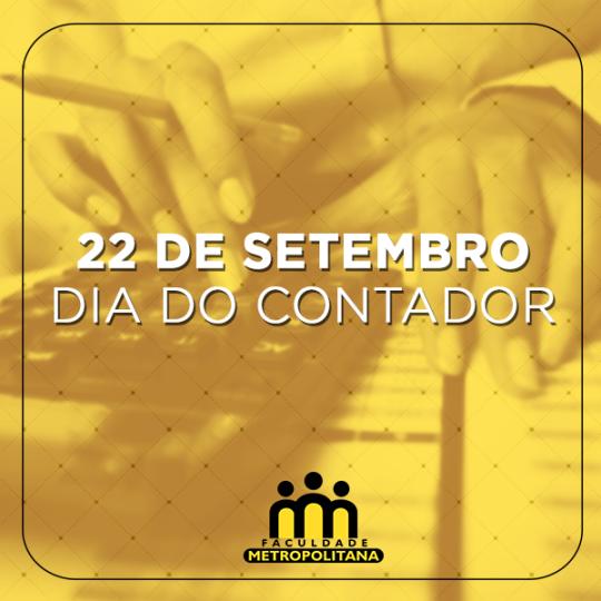 POST DIA DO CONTADOR